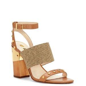 Louise et Cie Kellyn Studded Strap Sandal Heels 8M